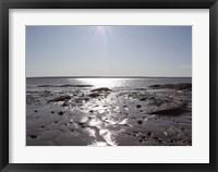 Atlantic Skies II Framed Print