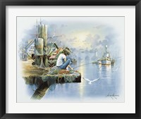Framed Fishing Dock D