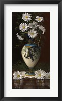 Framed Daisies in Royal Worchester