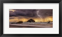 Framed Storm At Face Rock1