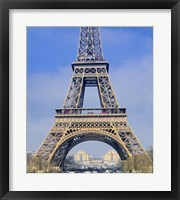 Framed Eiffel Tower First and Second Platform