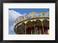 Framed Merry-go-round Paris
