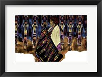 Framed Tesoros en Colores