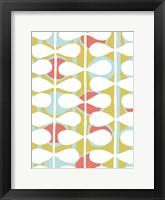 Retro Stems II Framed Print