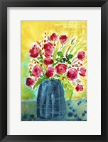 Framed Bright Arrangement I