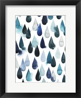 Water Drops I Framed Print