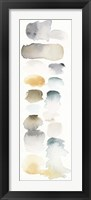 Watercolor Swatch Panel Neutral I Framed Print