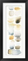 Watercolor Swatch Panel Neutral II Framed Print