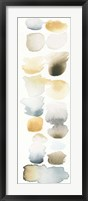 Framed Watercolor Swatch Panel Neutral II