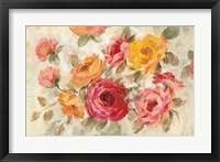 Framed Brushy Roses
