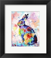 Framed Color Hare
