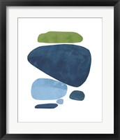 Framed Standing Stone III