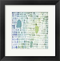 Framed Series Sea Glass No. 1