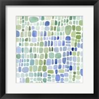 Framed Series Sea Glass No. II