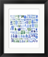 Framed Series Sea Glass No. IV