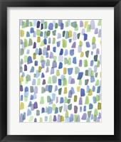 Framed Series Rain No. I