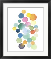 Framed Series Colored Dots No. III