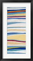 Framed Wavy Lines I
