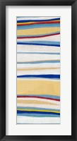 Wavy Lines II Framed Print