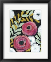 Flor de Color II Framed Print
