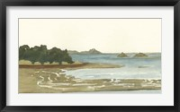 Spa Coastline I Framed Print