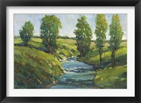 Lush Landscape III Framed Print