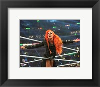 Framed Becky Lynch Wrestlemania 32 Action