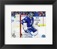 Framed Ben Bishop 2016 Stanley Cup Playoffs Action