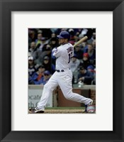 Framed Ben Zobrist 2016 Action