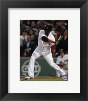 Framed David Ortiz 2016 Action