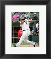 Framed Jose Abreu 2016 Action