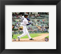 Framed Justin Upton 2016 Action