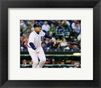 Framed Miguel Cabrera 2016 Action