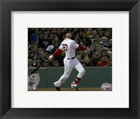 Framed Mookie Betts 2016 Action