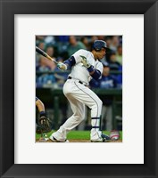 Framed Robinson Cano 2016 Action