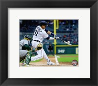 Framed Victor Martinez 2016 Action