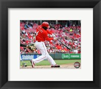 Framed Brandon Phillips 2016 Action