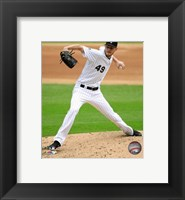 Framed Chris Sale 2016 Action
