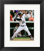 Framed Nolan Arenado 2016 Action