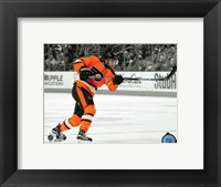 Framed Shayne Gostisbehere 2015-16 Spotlight Action
