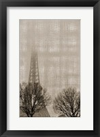 Framed Eiffel in the Fog