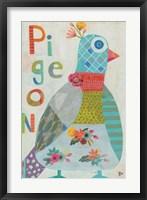 Framed Pigeon