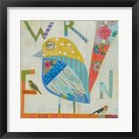 Framed Wren