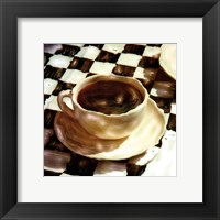 A Little Coffee Time Framed Print