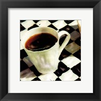 A Little Cup O'Joe Framed Print