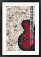 Framed Symphony in Guitar