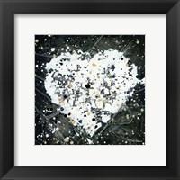 Framed Emotions Scenes White Heart