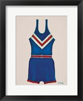 Framed Blue Uniform