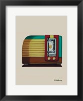 Framed Old Fashion Radio