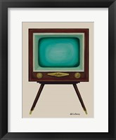Framed TV Set